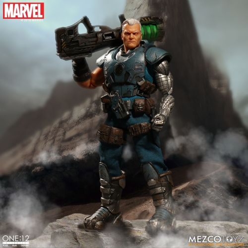 ** Pre-Order ** Mezco One: 12 Collective Marvel Cable Action Figure Pay Monthly